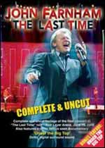 John Farnham: The Last Time DVD Cover